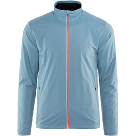 Icebreaker Incline Windbreaker Jacket Men granite blue/midnight navy